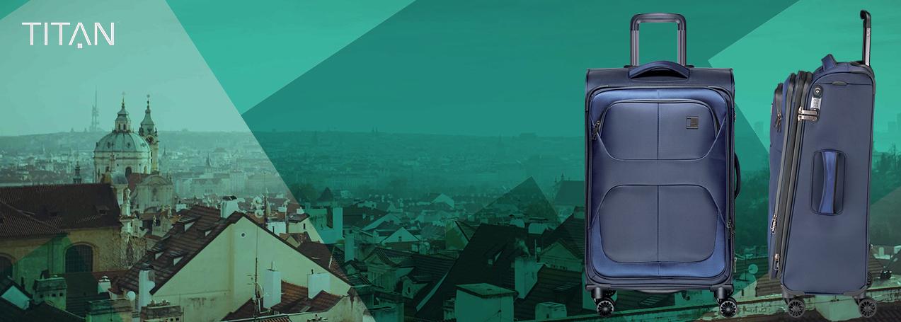 Textilní kufry Titan